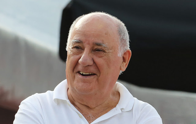 Amancio Ortega Net Worth - $75.4 Billion