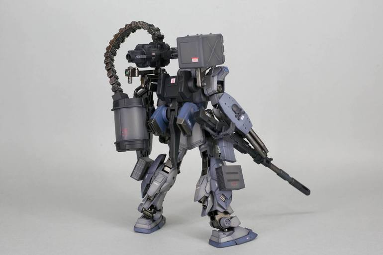 Custom Build: HGUC 1/144 Pale Rider [Heavy Equipment ver.]