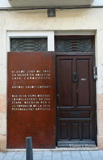 Casa natal de Gaudí, Reus