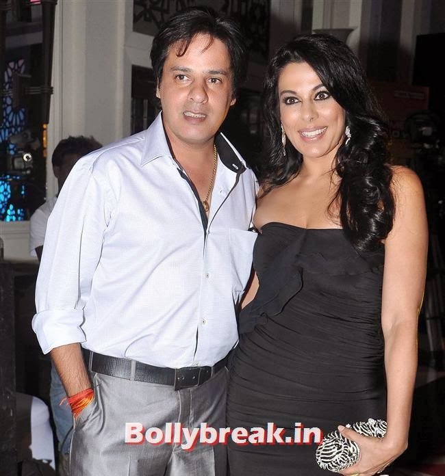 Rahul Roy and Pooja Bedi, Times Now Foodie Awards 2014