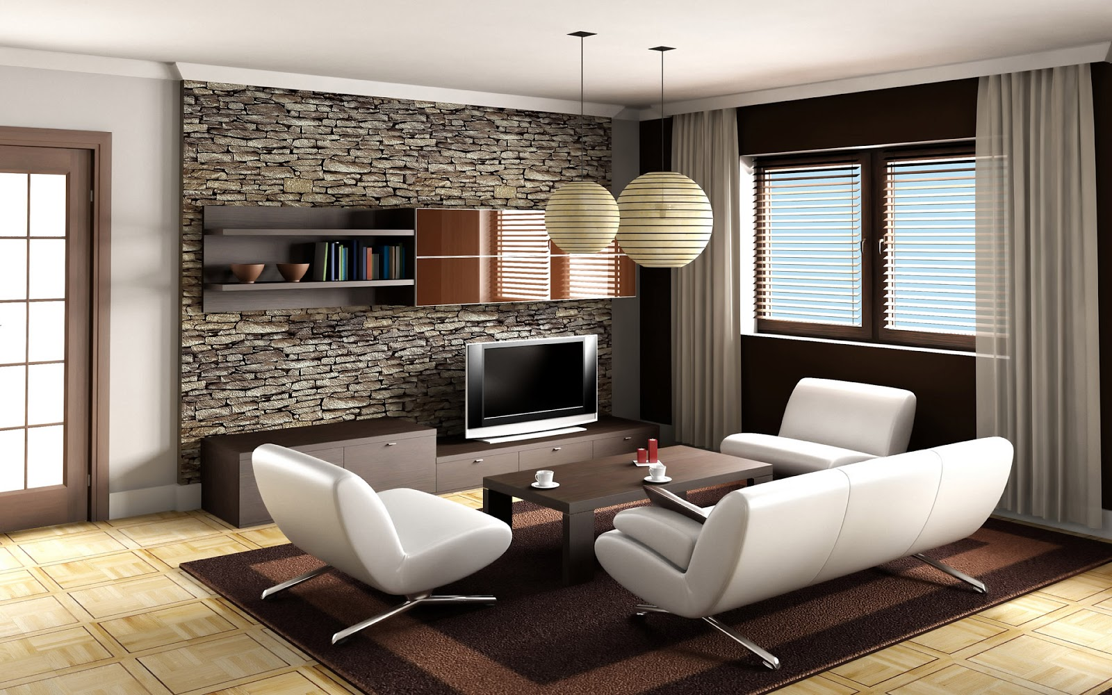 Style In Luxury Interior Living Room Design Ideas