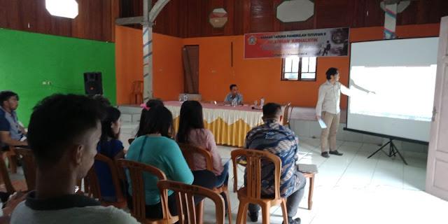 Gelar Pelatihan Jurnalis, Faruk: Apresiasi Untuk Pemuda Tutuyan Dua