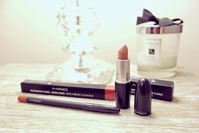 MAC Blankety Lipstick & Staunchly Stylish Lip Pencil
