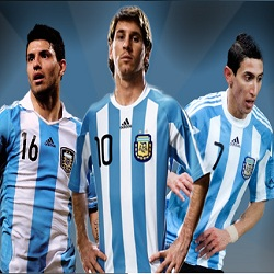 Aguero, Messi, Di Maria