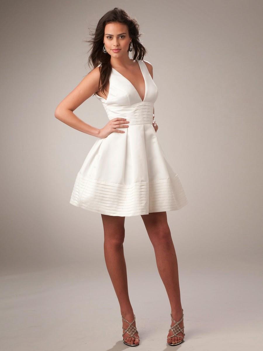 Fotos de vestidos de fiesta en blanco