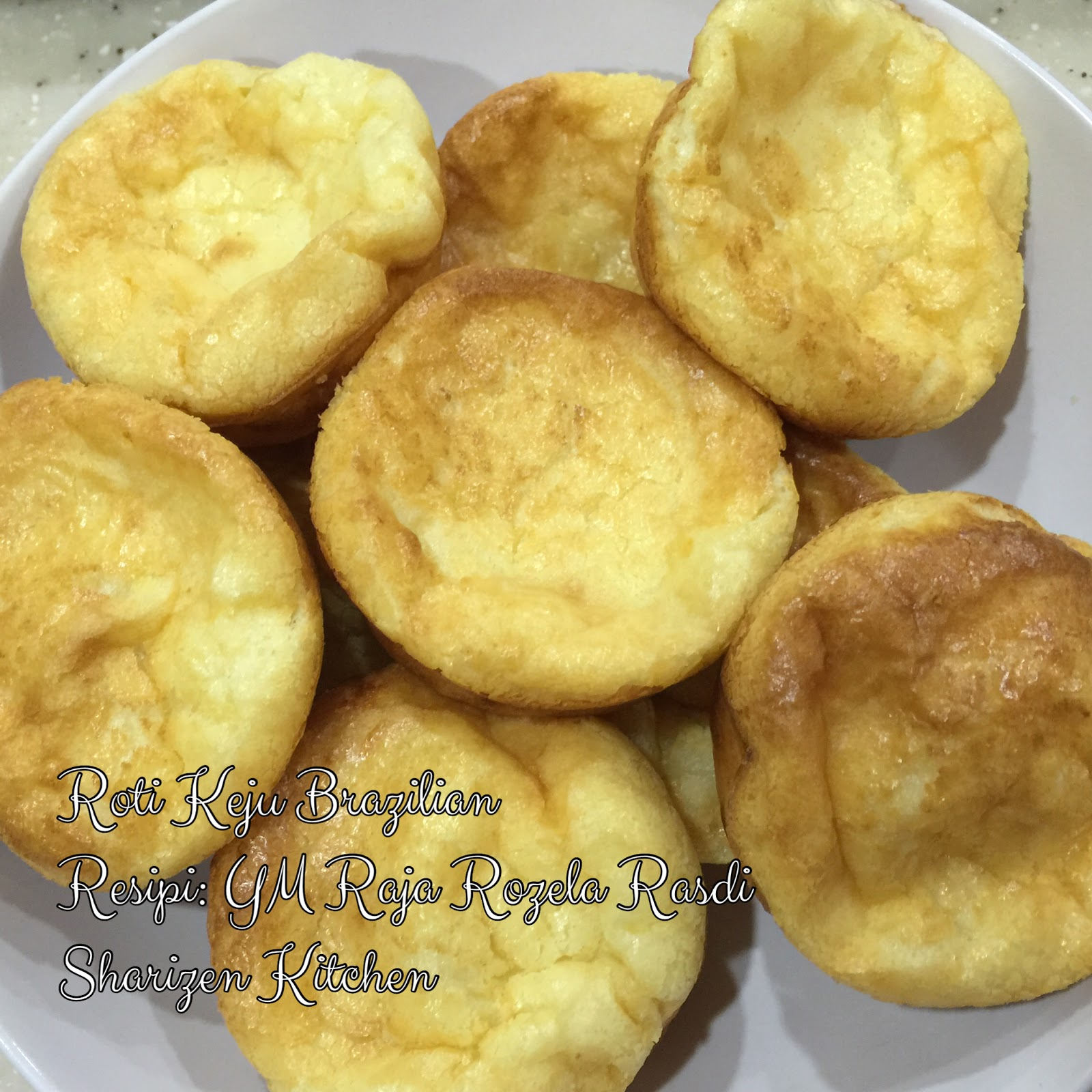 sharizen kitchen roti keju brazilian Resepi Roti Telur Susu Segar Enak dan Mudah