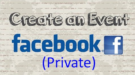 how do i make an event private on facebook