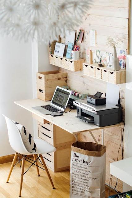 petits paradis personnaliser son coin bureau. Black Bedroom Furniture Sets. Home Design Ideas