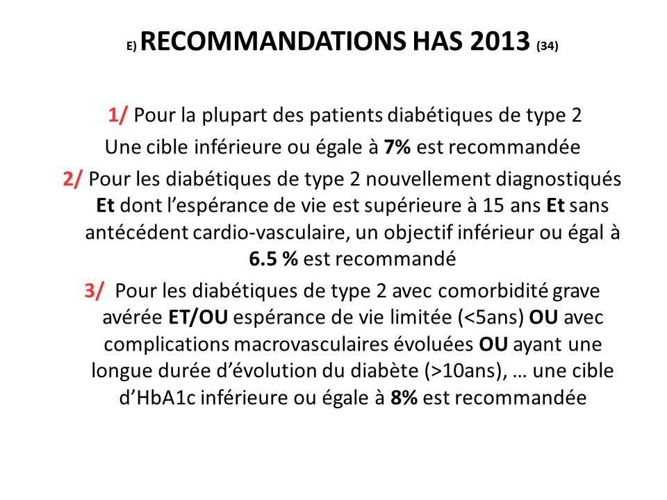 objectif hba1c diabete type 1