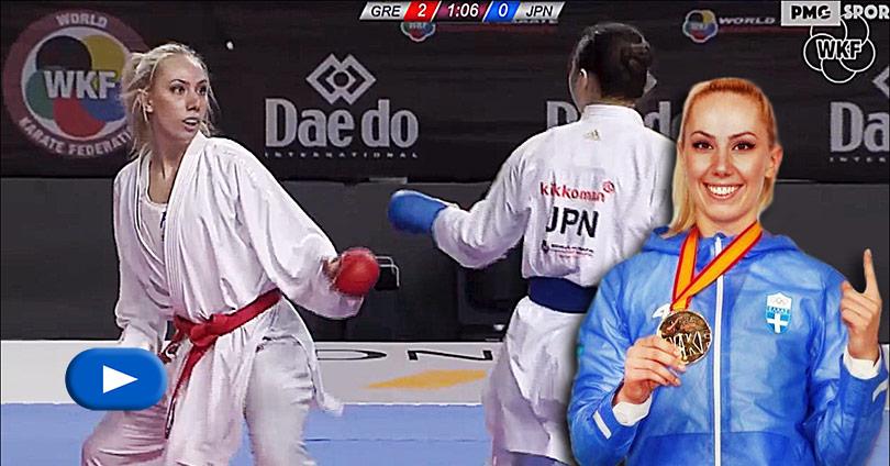 Eleni Chatziliadou vs Ayumi Uekusa