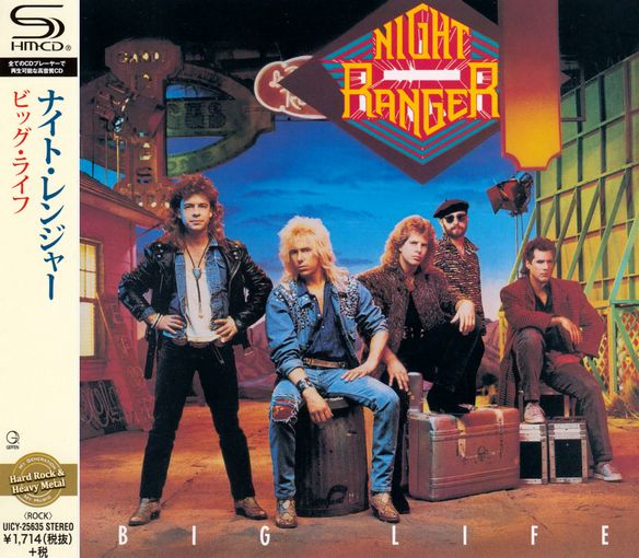 NIGHT RANGER - Big Life [Japan SHM-CD remastered] (2016) full
