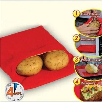 Мешок для приготовления картофеля в микроволновке
