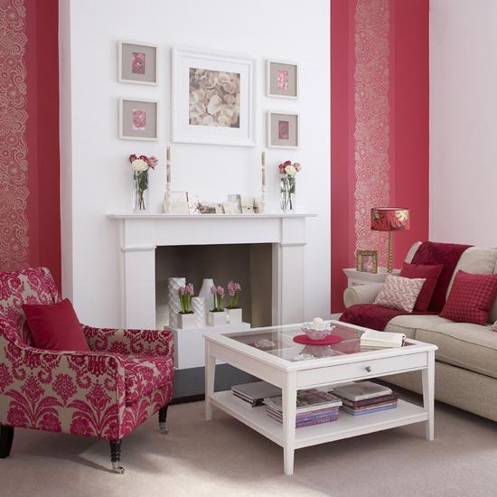 New Home Interior Design: Living room decorating ideas
