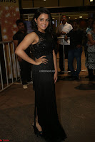 Wamiqa Gabbi in a sleeveless Black Designer Transparent Gown at 64th Jio Filmfare Awards South ~  Exclusive 147.JPG