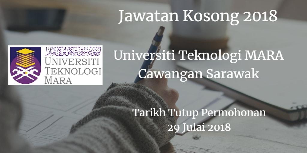 Jawatan Kosong UiTM Cawangan Sarawak 29 Julai 2018