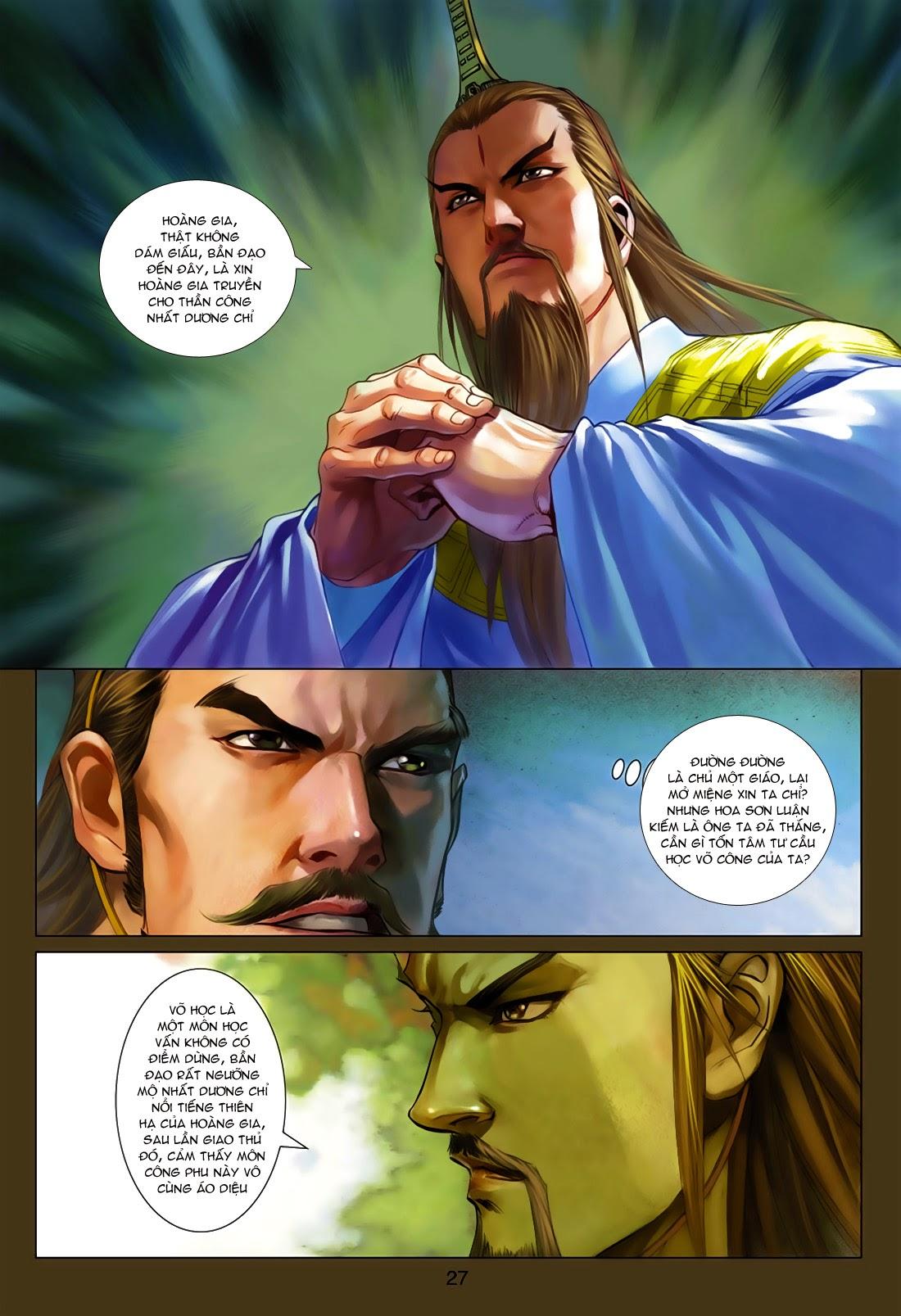 Anh Hùng Xạ Điêu anh hùng xạ đêu chap 75: hoàng thành cựu sự trang 27