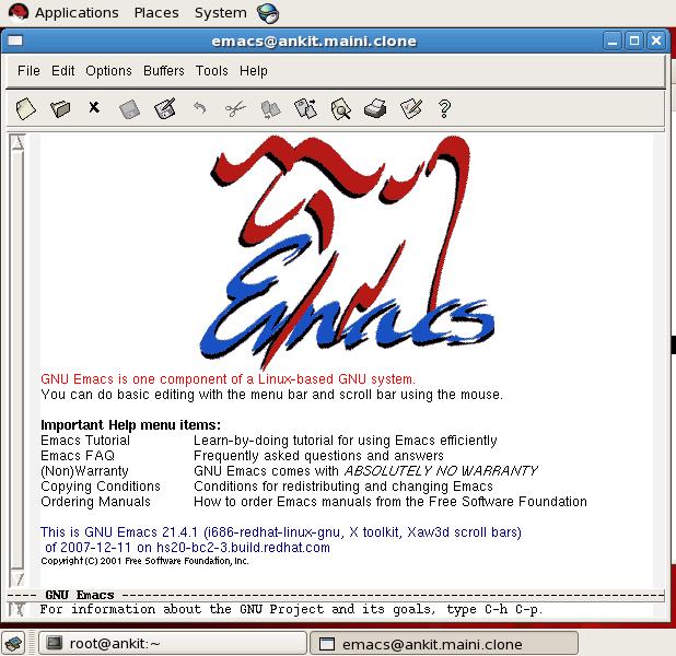 bits 'n' bytes ™: Editors in Redhat Linux