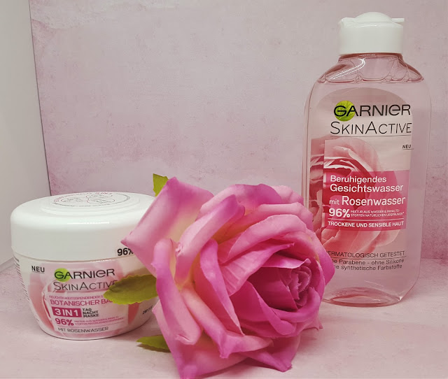 Garnier SkinActive - Gesichtspflege mit Rosenwasser