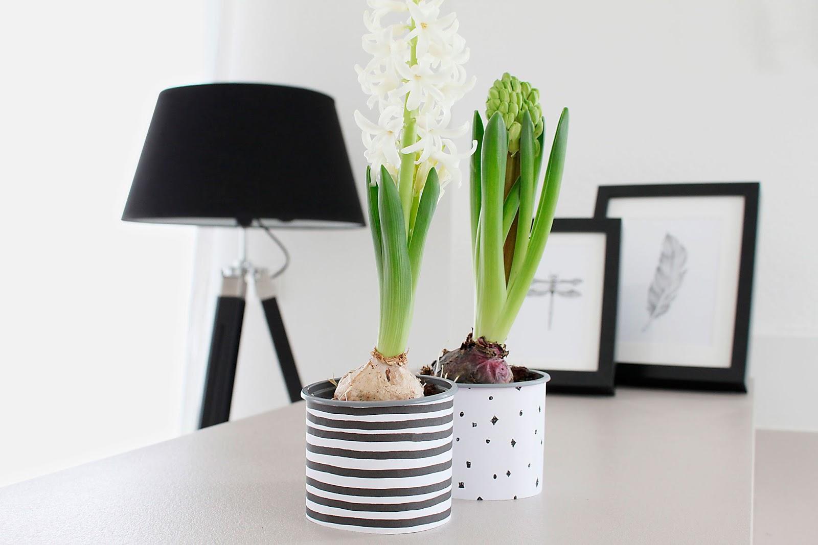 5 einfache diy Blumentöpfe im nordischen Stil