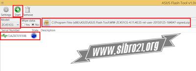 Cara Mengatasi ASUS Zenfone C Berhenti di Logo - Bootloop