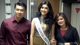 Ayah Tampan Kevin Lilliana Miss International 2017 Berbagi Tips Awet Muda