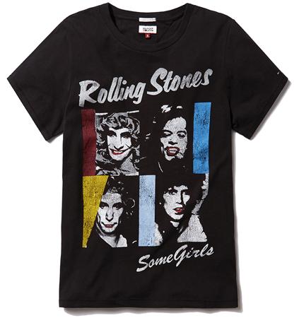camisetas The Rolling Stones de Tommy Hilfiger