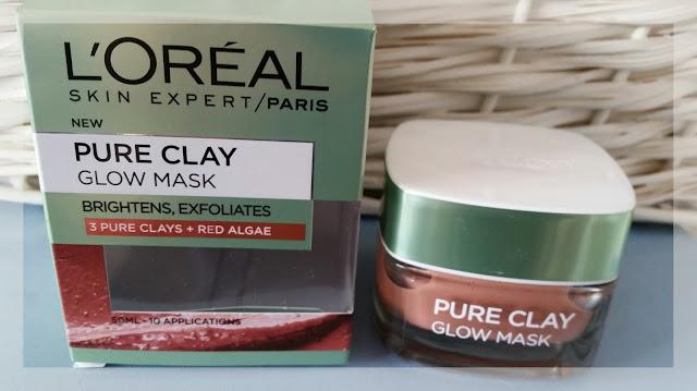 L'OREAL Pure Clay Glow Mask - maska czysta glinka z czerwonymi algami