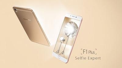 OPPO F1 Plus, Ponsel Selfie 16 Megapiksel