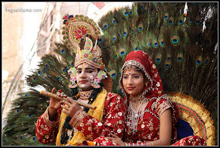 Krishna Radhe Janmashtami Jhanki Makeup
