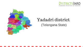 Yadadri district  and mandals