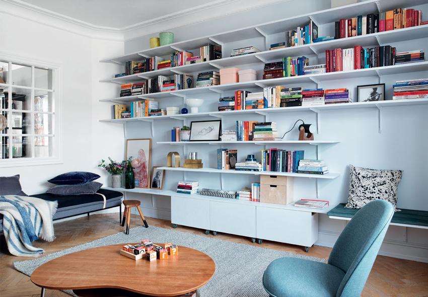 decoración estantería 1