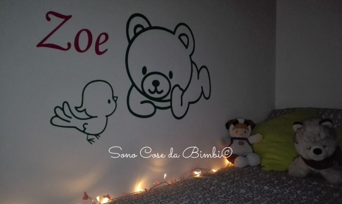 Come decorare la camera con sononato sono cose da bimbi for Cose per decorare la camera