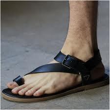 ab25ca7237 Eu Escolho Moda  Sandálias Gladiador Masculina