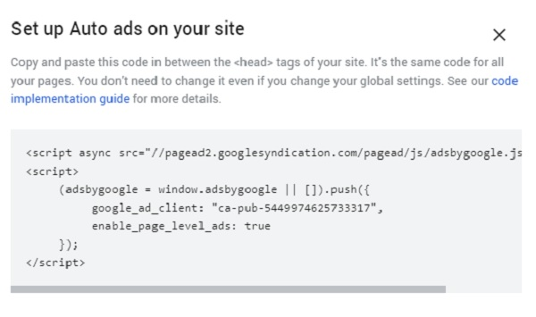 Step 1: Remove ALL Adsense code