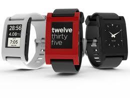 5334d515dfc O relógio de pulso inteligente Pebble