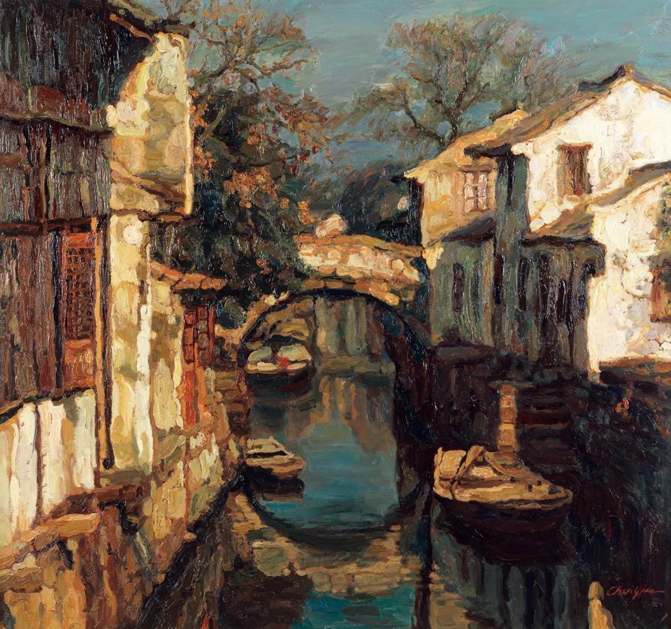 Maher Art Gallery: Chen Yifei / Chinese Romantic Realist ...