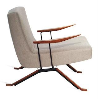 A poltrona MP-001, que lançou a Lafer como fabricante de móveis patenteados em 1961.