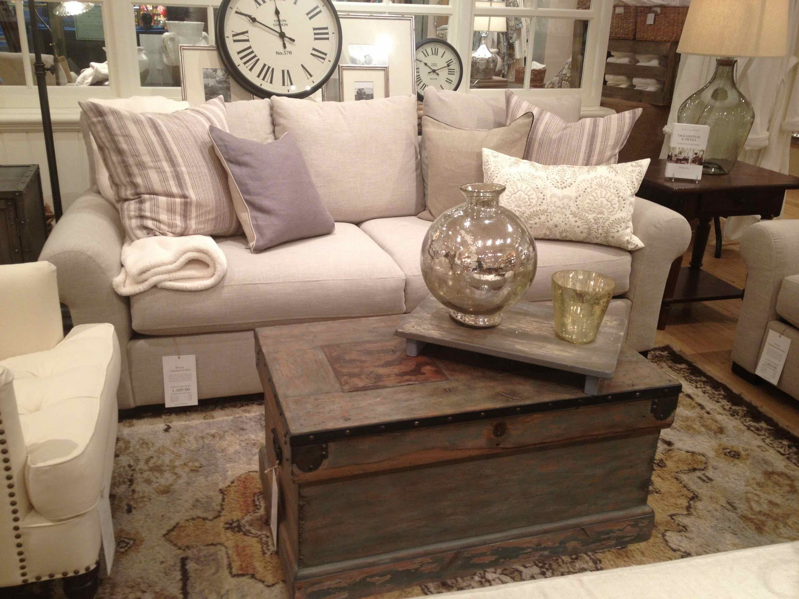 Pottery Barn s Winter Floor Model Sale