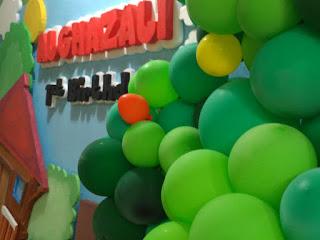 dekorasi ulang tahun styrofoam