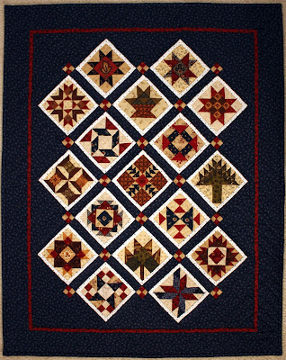 Miniature Civil War Sampler Debbie MacInnis
