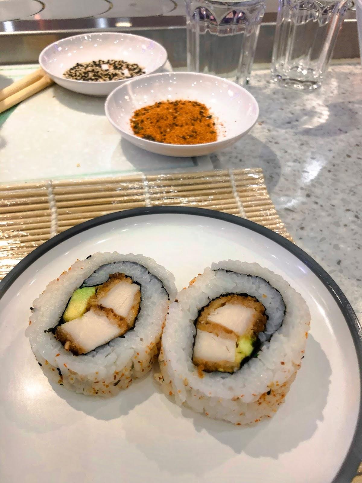 YO! Sushi Sushi School experience