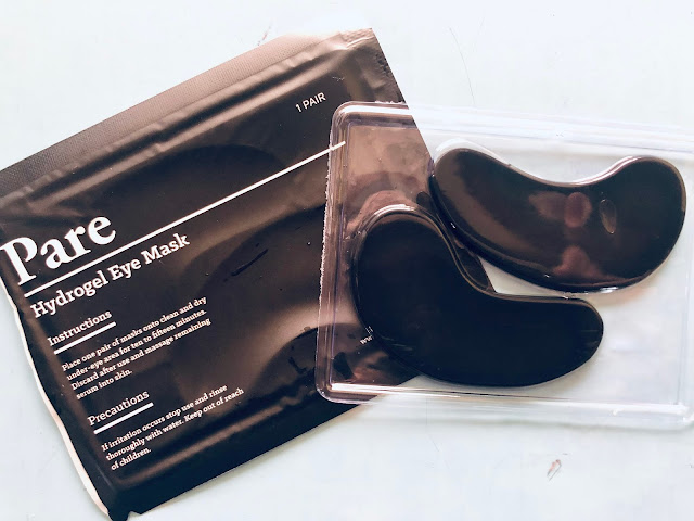 Pare Activated Charcoal Eye Mask