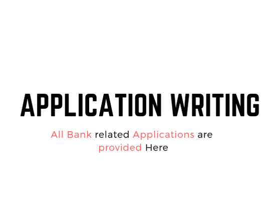 APPLICATION WRITING