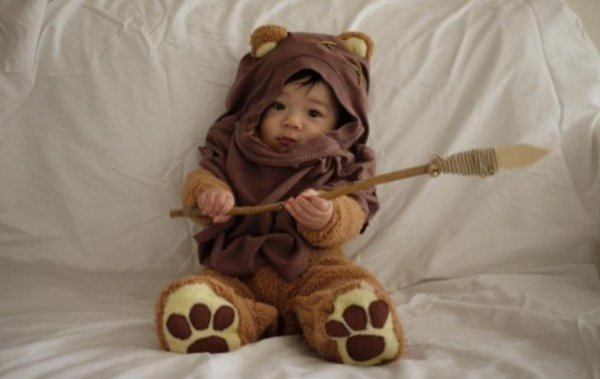 cutest ewok cosplay