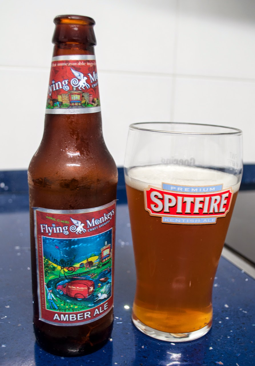 Flying Monkeys Amber Ale