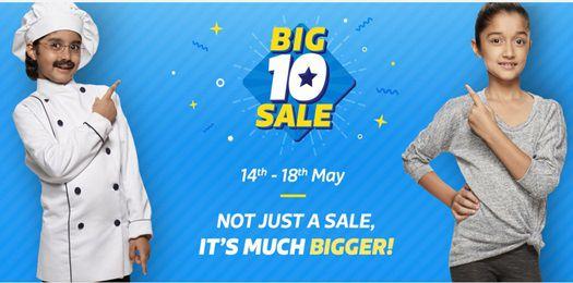 Big 10 Sale for Flipkart 10th Anniversary