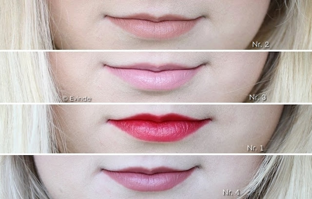 lovely color wear longlasting lipstick swatches