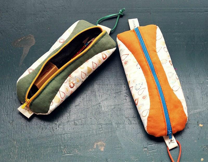 Handmade DIY Zipper Pencil Case Tutorial in Pictures.
