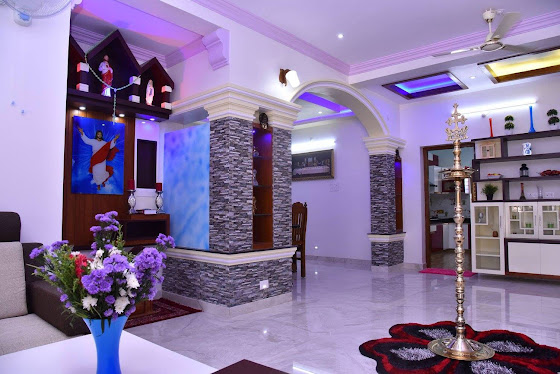 Jijo Grorges Heaven at Pathanapuram, Kerala home design