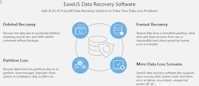 Sukses Mengembalikan Data Yang Hilang Dengan Easeus Data Recovery Wizzard